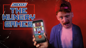 """The Hungry Games"": el advergaming de Snickers para chuparse los dedos"